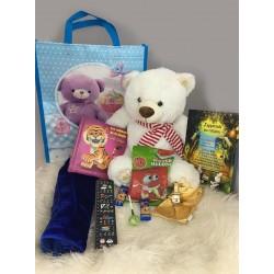 Pack Cadeau Garçon Musulman (3-5 ans) : Nounours - Livres - Bonbons Halal - Musc -...