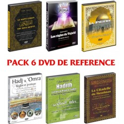 Pack 6 Reference DVD: The Holy Quran - The Tajwîd - The Prayer - The Hajj - The Hadiths...