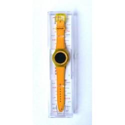 Alfajr yellow plastic sports watch