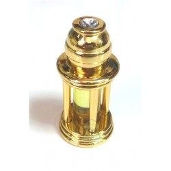 """Aladdin"" musk d'or perfume in golden metallic bottle with gift box"