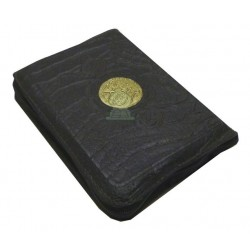 Le Saint Coran avec fermeture zip - Format 7 x 11 cm - Lecture Hafs - القرآن الكريم