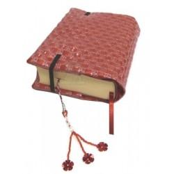 Pack Coran bilingue (français-arabe) avec son protège Coran artisanal en similicuir de...