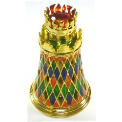 "Concentrated perfume without alcohol Golden Musk ""Fruits"" - Multicolored lozenge tower..."