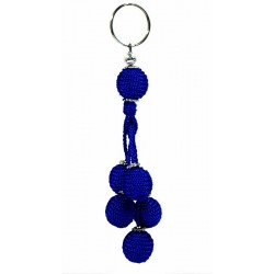 Handcrafted Handcrafted Sabra Keychain - Blue