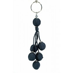 Handcrafted Handcrafted Sabra Keychain - Gray