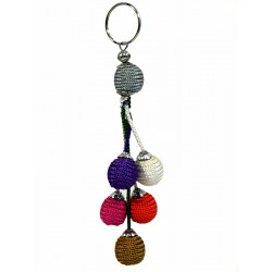 Handcrafted Sabra Handcrafted Keyring - Multicolors