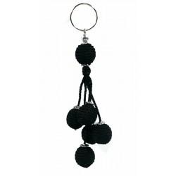 Decoration / Handcrafted Handcrafted Sabra Keychain - Black