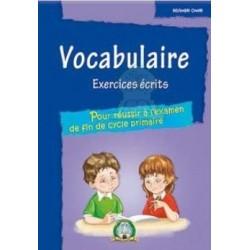Vocabulaire : Exercices écrits