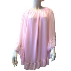 Top rose pour femme - Taille standard