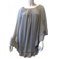 Top taupe pour femme - Taille standard