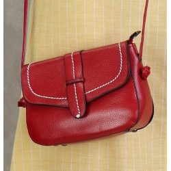 Shoulder bag for women - Red color