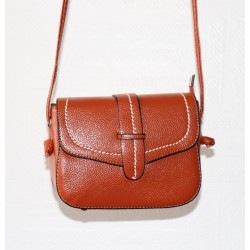 Shoulder bag for women - Rust color